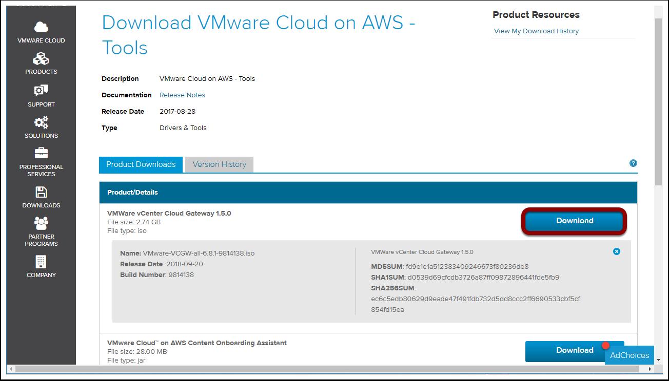 CGW Download Portal